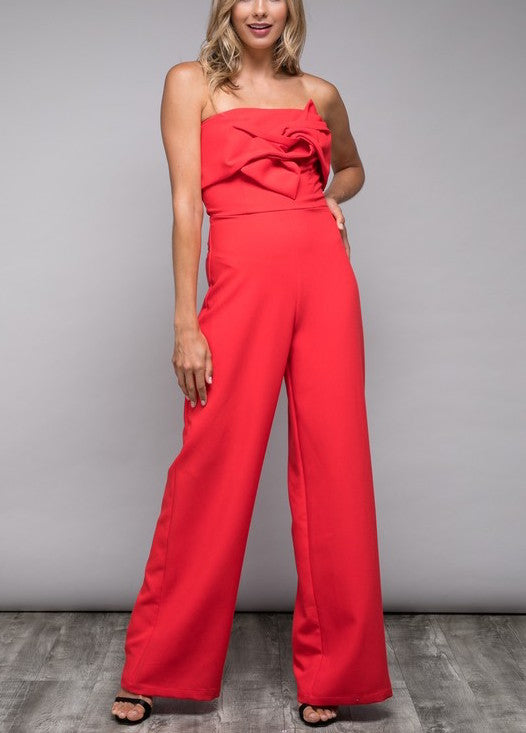 Sissy Bow Jumpsuit