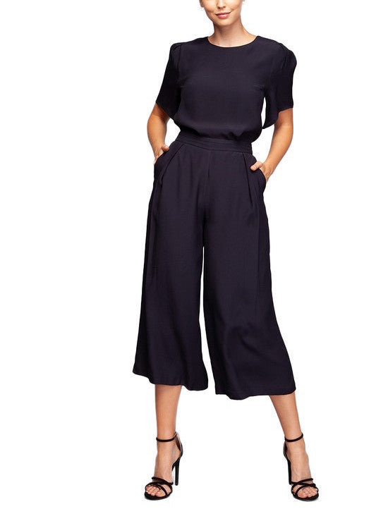 Billy Wide Leg Cropped Pant