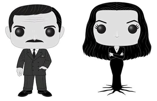 Addams Family - Morticia and Gomez Black & White US Exclusive Pop! Vinyl 2-pack [RS] - Pop! Vinyl