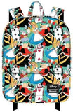 Alice In Wonderland - Print Backpack - Bags & Accessories