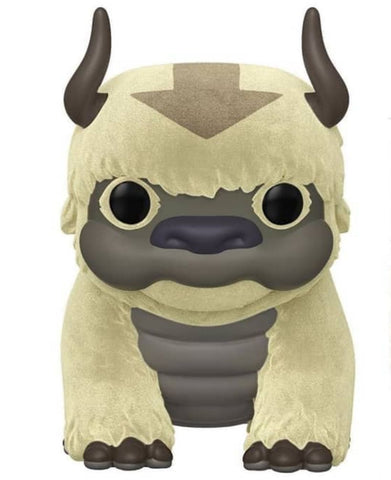 Avatar The Last Airbender - Appa Flocked US Exclusive 6 Inch Pop! Vinyl Figure - Pop! Vinyl