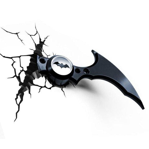 Batman - Batarang 3D Wall Light - Homewares