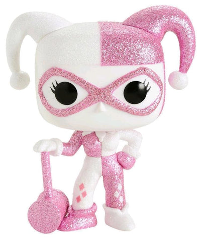 Batman - Harley Quinn Pink Diamond Glitter Us Exclusive Pop! Vinyl [Rs] - Pop! Vinyl