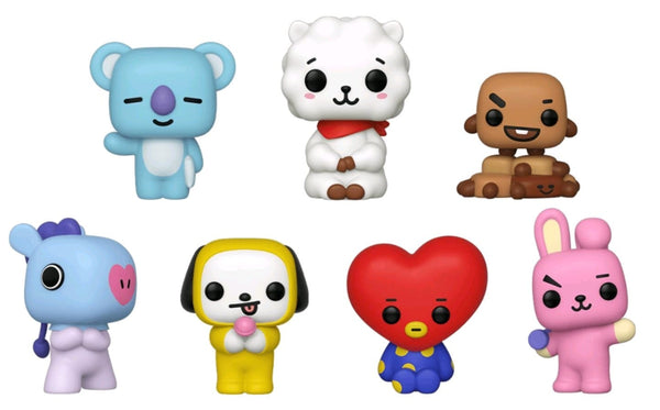 BT21 - BT21 US Exclusive Pop! Vinyl 7-Pack [RS] - Pop! Vinyl
