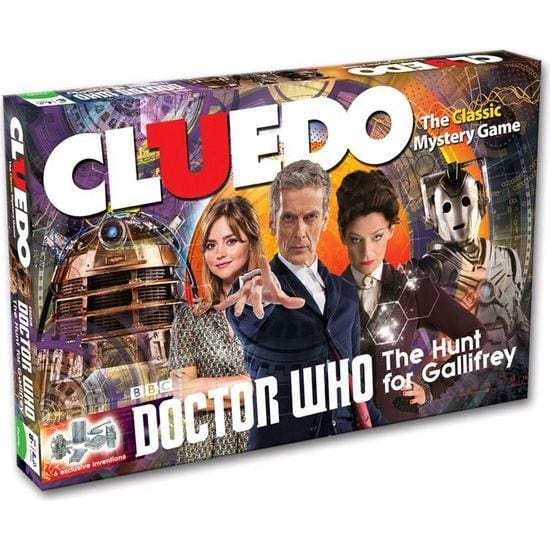 Doctor Who THE HUNT FOR GALLIFREY Cluedo CARDS Assorted Cards 12th Doctor