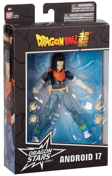DRAGON BALL SUPER - DS ANDROID 17 FIGURE - DRAGON STARS SERIES - AA - Action Figure