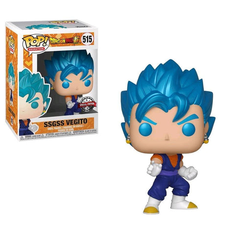 Dragon Ball Super - SSGSS Vegito US Exclusive Pop! Vinyl [RS] - Pop! Vinyl