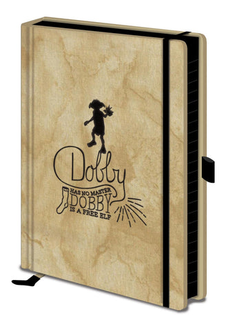 Harry Potter - Dobby Embroidered Fabric Notebook - Stationary