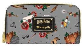 Harry Potter - Props Print Zip-Around Wallet - Bags & Accessories