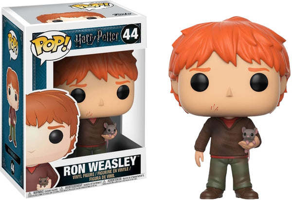 Harry Potter - Ron W/scabbers Pop! - Pop! Vinyl