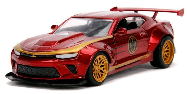 Iron Man - 2016 Chevy Camaro SS 1:32 Hollywood Ride - Metal Figures & Vehicles
