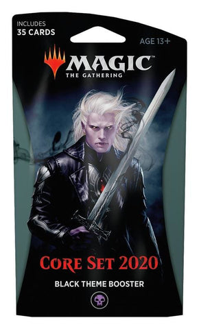 Magic the Gathering: Core Set 2020 Black Theme Booster - TCG