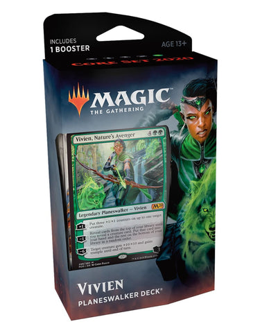 Magic the Gathering: Core Set 2020 Vivien Planeswalker Deck - TCG