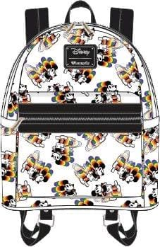 ce833cc53ae4 Mickey Mouse - Mickey Rainbow Print Mini Backpack - Bags   Accessories