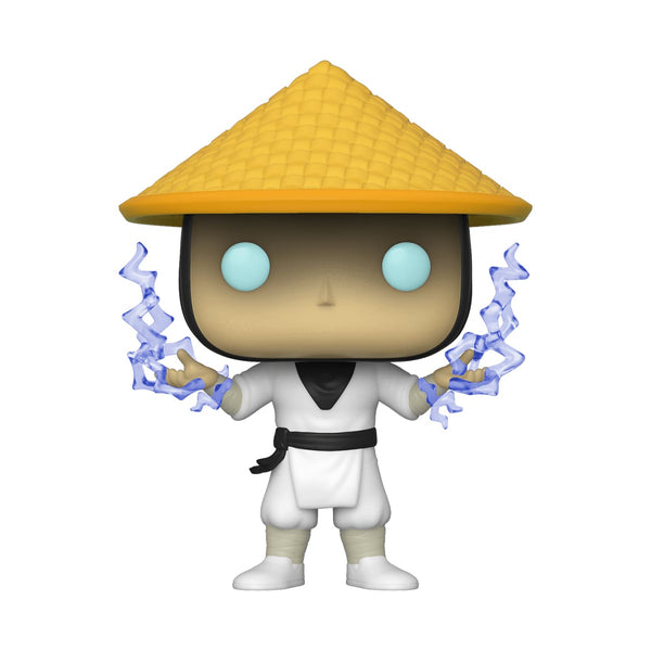 Mortal Kombat (2019) - Raiden with Lightning US Exclusive Pop! Vinyl [RS] - Pop! Vinyl