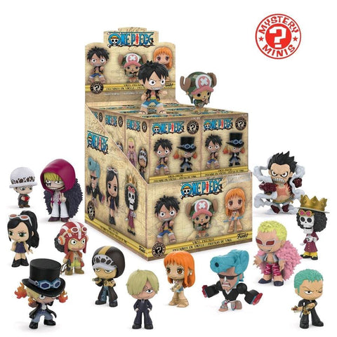 One Piece - Mystery Minis Hot Topic US Exclusive Blind Box - Mystery