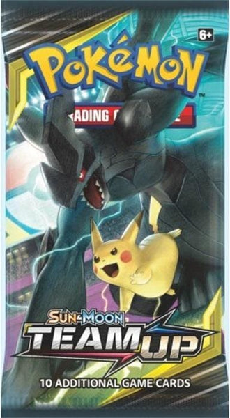 Pokemon Trading Card Game: Sun And Moon: Team Up Booster - Tcg