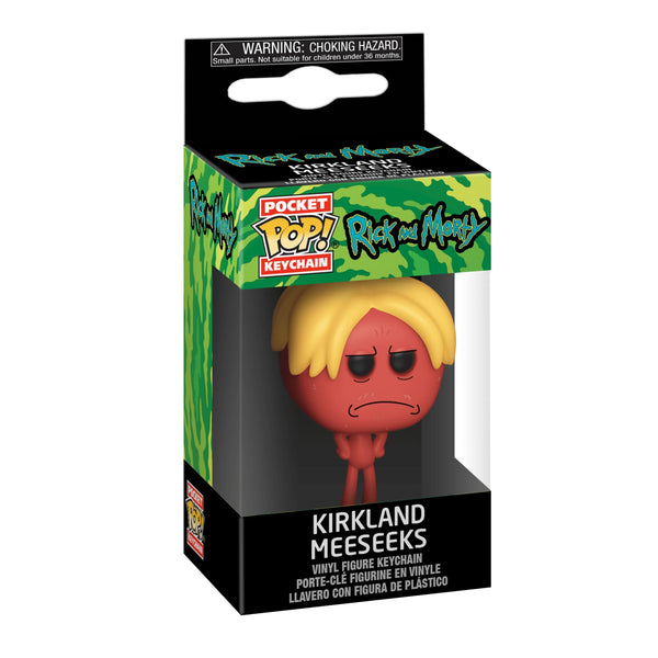 Rick and Morty - Kirkland Meeseeks Pop! Keychain - Keychain
