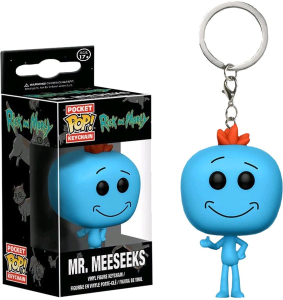 Rick & Morty - Mr Meeseeks Pop! Keychain - Keychain