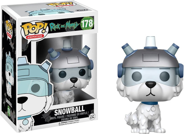 Rick & Morty - Snowball Pop! - Pop! Vinyl