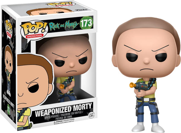 Rick & Morty - Morty Weaponized Pop! - Pop! Vinyl