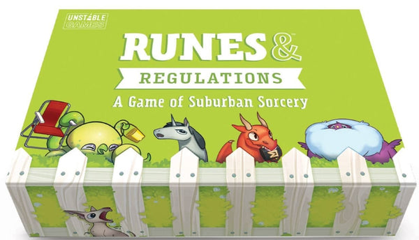 Runes and Regulations - Card Game