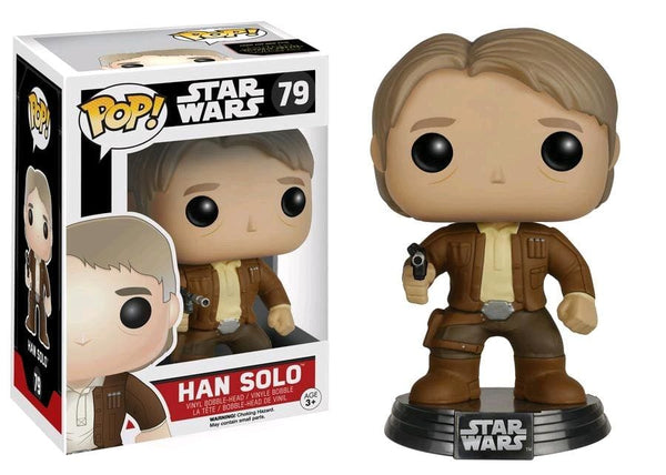 Star Wars - Han Solo Ep 7 Pop! Vinyl Figure - Pop! Vinyl