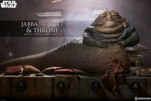 Star Wars - Jabba the Hutt & Throne 1:6 Action Figure - Premium Action Figure