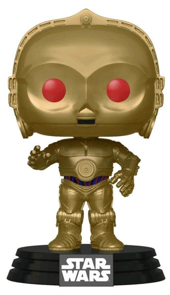 Star Wars: Rise of Skywalker - C-3PO Red Eyes Metallic Pop! Vinyl Figure - Pop! Vinyl