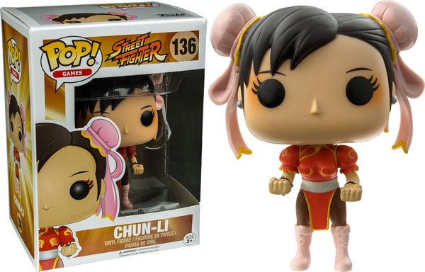 Street Fighter - Chun Li (Red) Pop! !e Rs - Pop! Vinyl