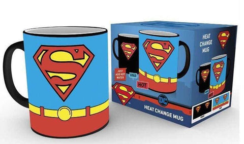 Superman - Superman Costume Heat Change Mug - Homewares