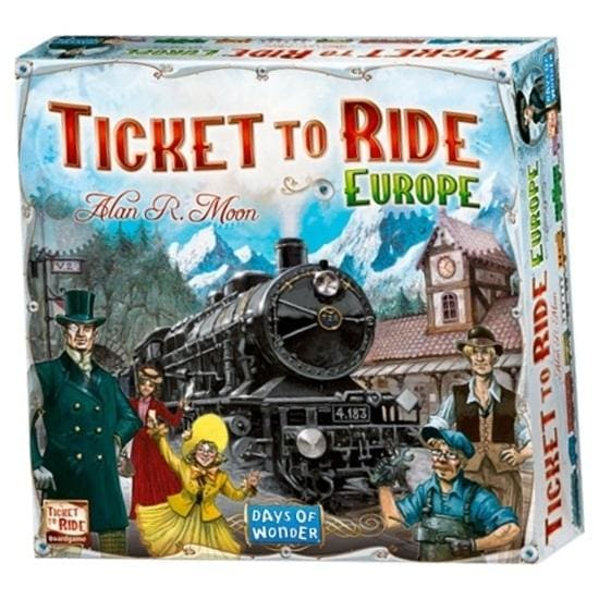 Ticket to Ride Europe - Board Game