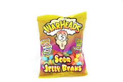 Warheads - Sour Jelly Beans Peg Bag
