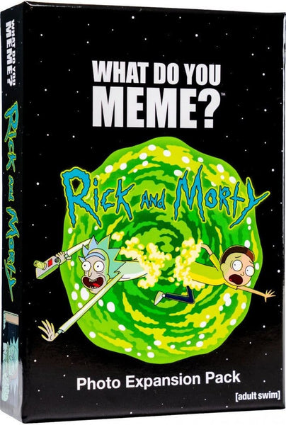 What Do You Meme Rick and Morty Expansion Pack - Card Game