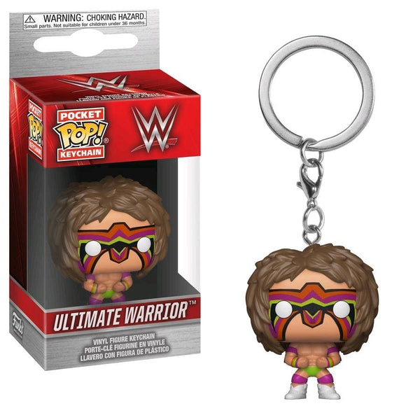 WWE - Ultimate Warrior Pocket Pop! Keychain [RS] - Keychain