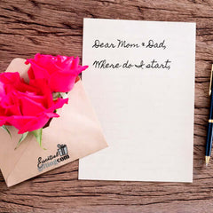 Writing Gifts for Mom & Dad by Essentialgifting