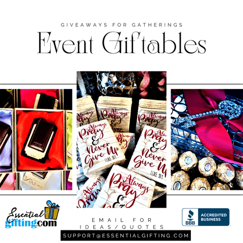 Event Giveaways, Gifts, Favors
