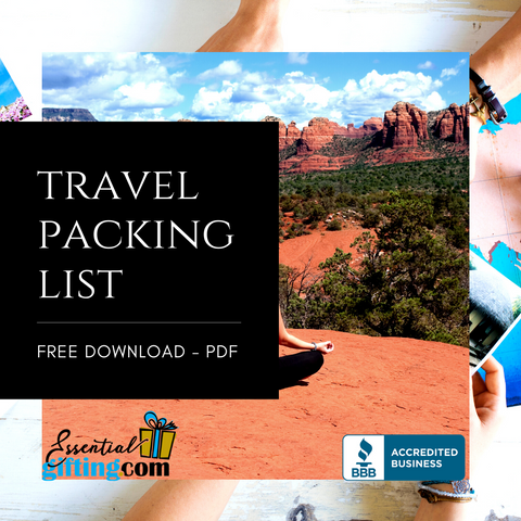 Travel Packing List by Essentialgifting
