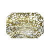 Swarovski® Crystals #5515 - Crystal Gold Patina - 14x9.5mm