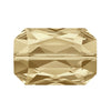 Swarovski® Crystals #5515 - Crystal Golden Shadow - 14x9.5mm