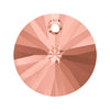 Swarovski® Crystals #6428 - Rose Peach - 8mm