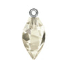 Swarovski® Crystals #6541 - Crystal Silver Shade, Rhodium Bail - 14.5mm