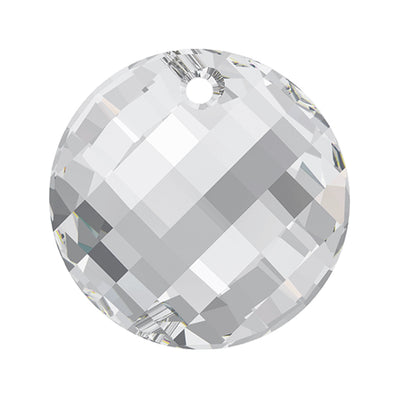 Swarovski® Crystals #6621 - Crystal Comet Argent Light V P - 18mm