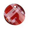 Swarovski® Crystals #6621 - Crystal Red Magma - 18mm