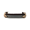 5.5-8 Inch Leather and Wax Cord Bracelet - When There's a Will There's a Way