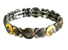7 Inch Stretch Bracelet Featuring Epoxy, Metal and Swarovski®