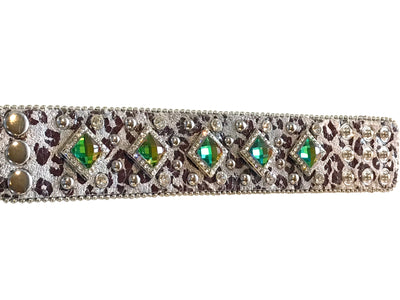 Adjustable Western Bracelet with Diamond Crystals