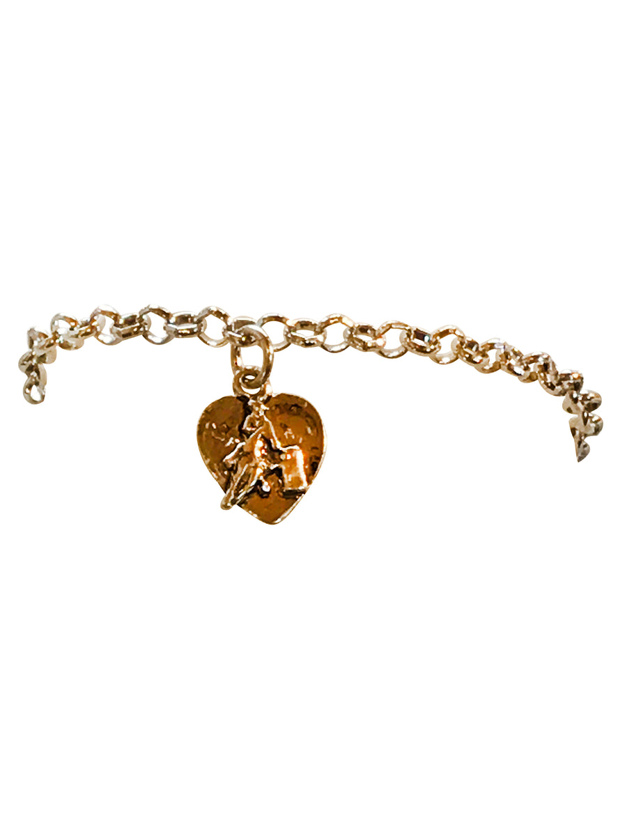 Barrel Racer Charm Bracelet, 7 Inches