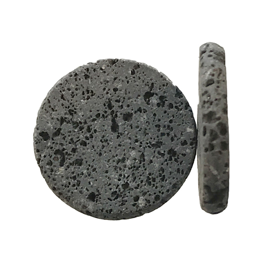 22mm Natural Lava Rock Insert for Aromatherapy Locket