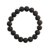 7 Inch Natural Lava Gemstone Aromatherapy Stretch Bracelet